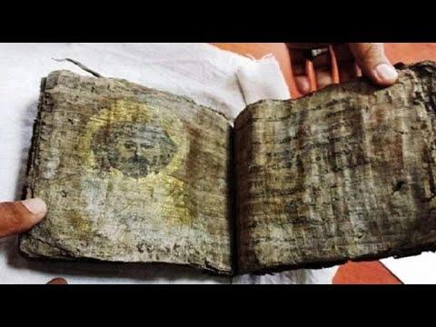 1000 jaar oude bijbel gevonden in Turkije toont afbeeldingen van Jezus