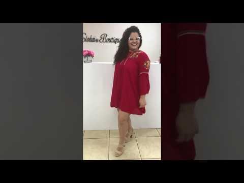 Burgundy Dress Elohai Boutique | Shop Online Now! Affordable and Fashion Plus Size Women Clothing