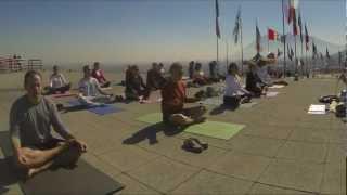 Kundalini yoga time lapse