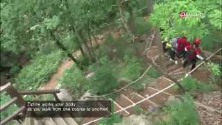 Mungyeong-si South Korea  city photos : Korea Top10-Zipline is an adventure sport that can be enjoyed in all four season
