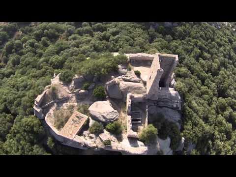 Mit der Kamera-Drohne aufgenommene Bilder aus Olbia