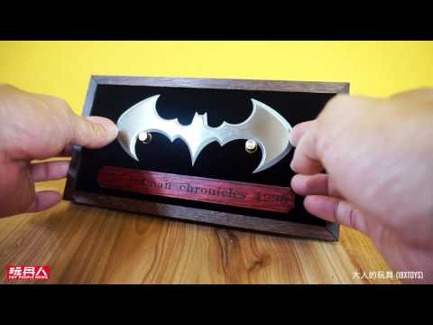 Tube Pop Art 1:1 蝙蝠俠 設計師詮釋款 收藏擺飾系列 開箱