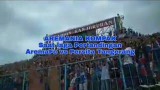 Kekompakan Aremania & Aremanita saat Arema vs Persita