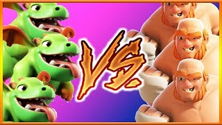 Video BOXER GIANT vs BABY DRAGON | Troop vs Troop | Clash of Clans MP3, 3GP, MP4, WEBM, AVI, FLV Mei 2017