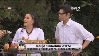 Creadora Técnica Alquimia Abdominal en Red TV