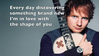 Video Shape Of You - Ed Sheeran Lyrics MP3, 3GP, MP4, WEBM, AVI, FLV Januari 2018