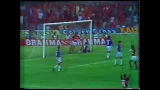 Flamengo 2 X 0 Cruzeiro - Amistoso 1993 (Troféu Raul Plasman) - Nilson.