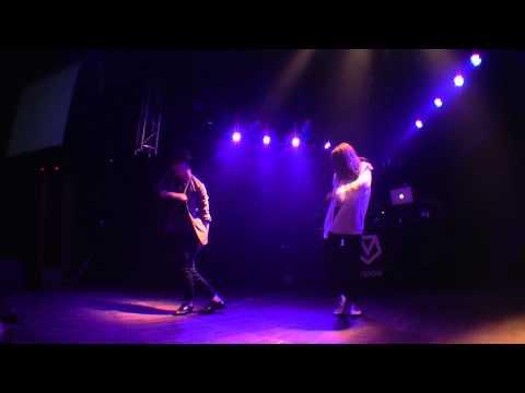 kazuki(s**t kingz) × Ami(QUEEN OF SWAG) / flux vol.3 DANCE SHOW