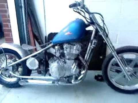 Bike To Bobber Video 12 93 Kawasaki Vulcan En500 Bobber фильмы