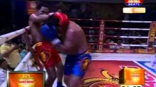 [ SEA TV ] Khmer Thai Boxing Vorn Viva vs YuthakunKrai  Sea TV 24/04/14 - TV Show, SEATV, SEATV Boxing