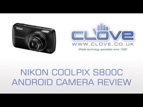 Nikon Coolpix S800c Android Camera Review (Clove)