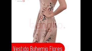 Vestido Bohemio flores