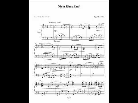 Niem Khuc Cuoi - Ngo Thuy Mien - Piano Solo