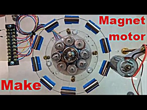 Can You Get Free Energy From Magnet Motor ?
