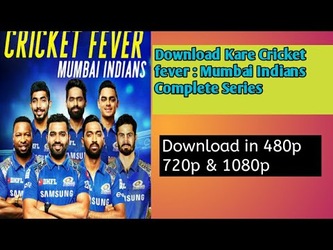 How to download Cricket fever : Mumbai Indians in one click / 100 % proof