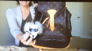 I hope you enjoy my Louis Vuitton Montsouris GM backpack review and purseket organizer.