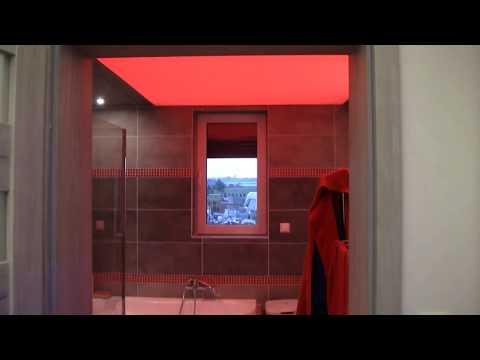 Oświetlenie łazienki sufit świecący