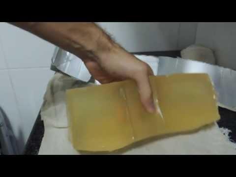 Gelatina balística caseira