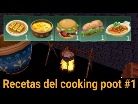 Utopia:origin| Recetas Del Cooking Poot #1