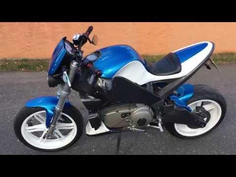 BUELL XB 12 STT UMBAU 1 MANN HECK MOTOBIKE COTTBUS