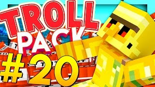 BLOWING UP BEN'S HOUSE - Minecraft TROLL PACK #20