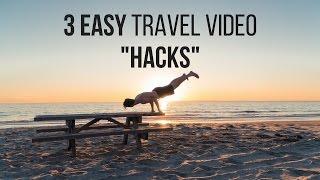 Video How To Make Travel Videos: 3 Easy 'Hacks' MP3, 3GP, MP4, WEBM, AVI, FLV Juli 2018
