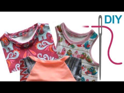 Grundkurs Schrägstreifen aus Jersey an Kleider und Oberteile nähen