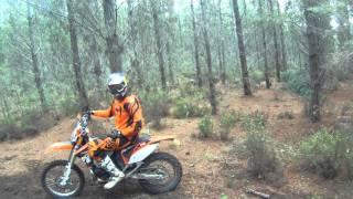 10. KTM 200 EXC vs KTM 300 EXC - Flowing Singletrack GoPro