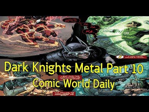 Dark Knights Metal Part 10 ถ้ำค้างคาวแห่งความตาย!  - Comic World Daily