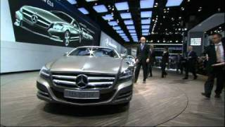 New Mercedes Benz CLS Paris Motor Show 2010 Presentation