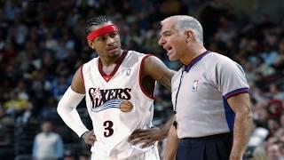 Video Allen Iverson Top 10 plays vs NBA Referees ! *Happy 42nd Birthday to AI MP3, 3GP, MP4, WEBM, AVI, FLV September 2019