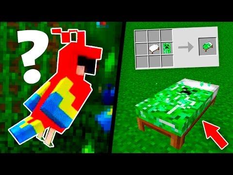 ПОПУГАИ И ЦВЕТНЫЕ КРОВАТИ В Minecraft 1.12 | МАЙНКРАФТ НОВОСТИ (видео)