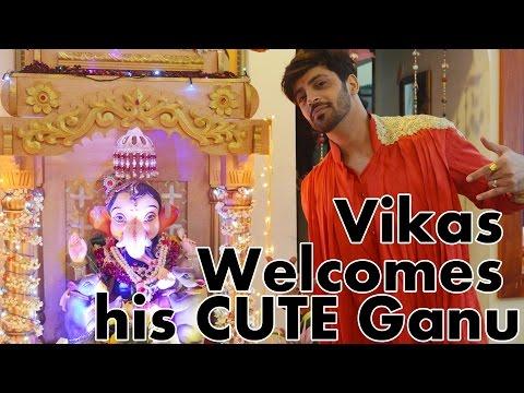 #GaneshChaturthi Spl : Vikas Welcomes his CUTE Gan