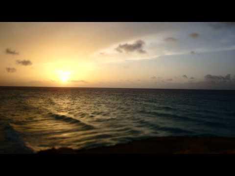 Romantischer Sonnenuntergang Zeitraffer Aufnahme am Hotel Melia Varadero - Kuba