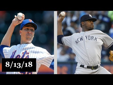 New York Mets vs New York Yankees Highlights    August 13, 2018