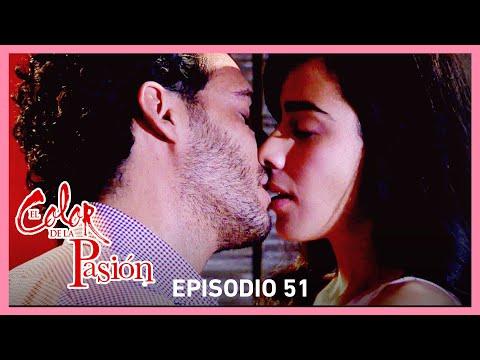 El color de la pasión: Lucía y Marcelo se entregan a la pasión   C-51   Tlnovelas
