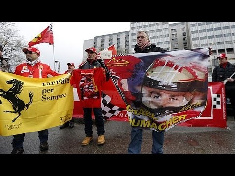 Schumacher fans hold silent birthday tribute