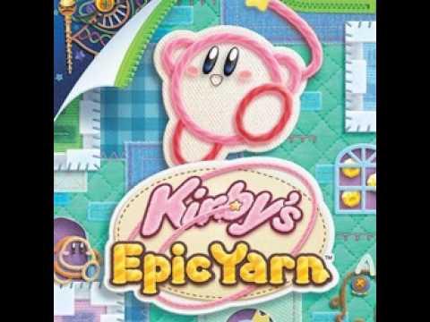 Kirby's Epic Yarn-OST-#1-Title Screen