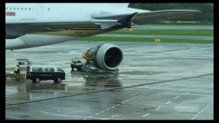 Video Airbus A380 Engine Change - Singapore Airlines MP3, 3GP, MP4, WEBM, AVI, FLV Agustus 2018