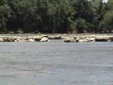 New Harmony Indiana Old Dam Wabash River