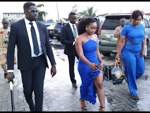 Boss Lady! BBNaija Ceec Step Out In Style With Two Bodyguard At The Grand Opening Of Lennox Mall