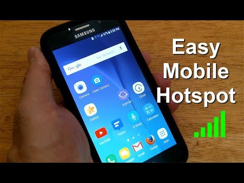 How to create a Mobile Hotspot Cell Smartphone (Android) - Free & Easy