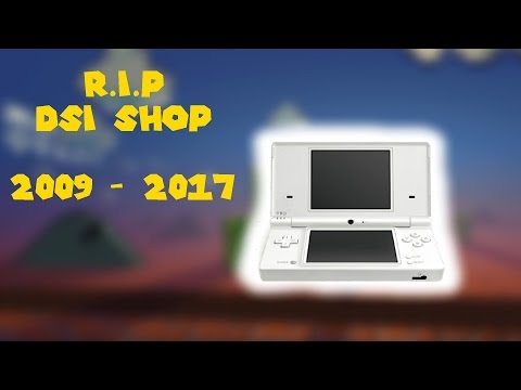 The Nintendo DSi Shop is Closing!!!