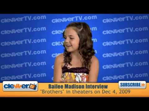 "Bailee Madison Interview : New Movie ""Brothers"""