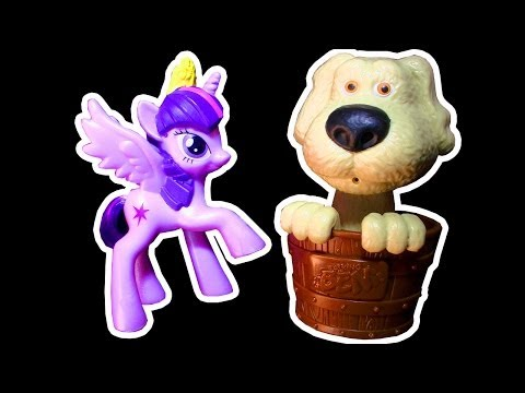 Knock Off Toy Crusher Test My Little Pony Happy Meal Toy Vs MLP Toys