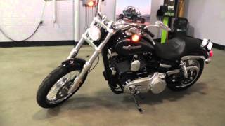 10. 327378 - Used 2013 Harley Davidson Dyna Super Glide Custom FXDC Motorcycle For Sale
