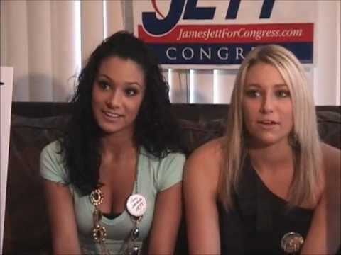 We support James Jett for Congress! w BLOOPERS