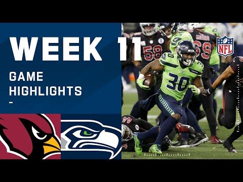 Cardinals vs. Seahawks Week 11 Highlights   NFL 2020