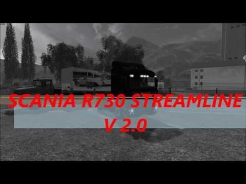Scania R730 STREAMLINE V2.0