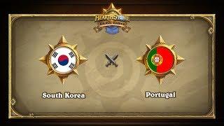 KOR vs PRT, game 1